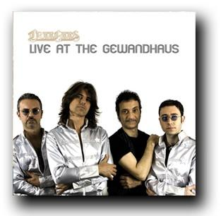 La copertina di Live at the Gewandhaus