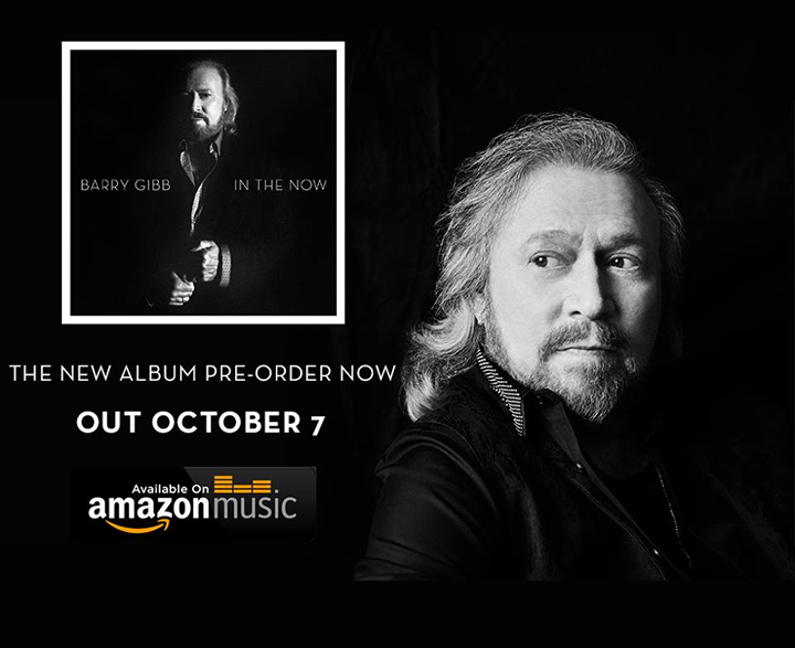 Pre-Order the new Barry Gibb Album