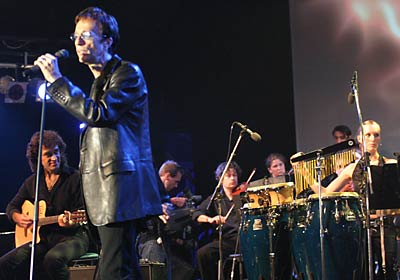 Robin a Bonn con l'orchestra