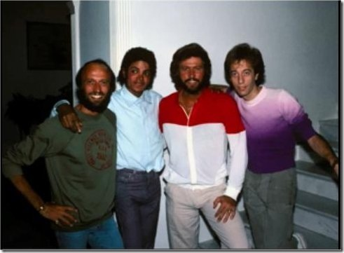 Bee Gees & Micheal Jackson (1984)
