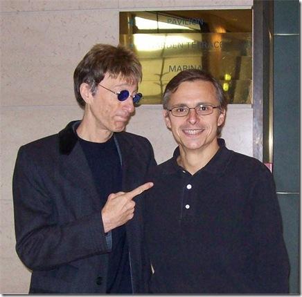 Robin Gibb ed Enzo Lo Piccolo, Amsterdam, 22 ottobre 2010