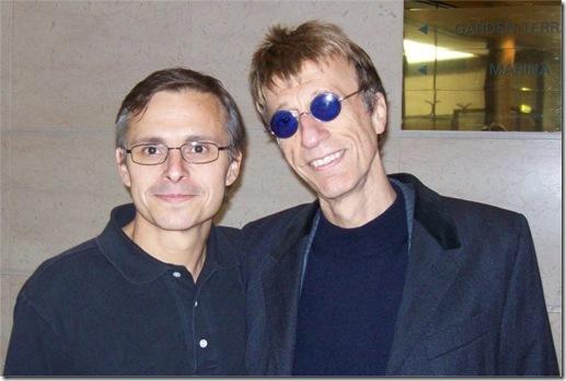 Enzo Lo Piccolo e Robin Gibb ad Amsterdam, 22 ottobre 2010
