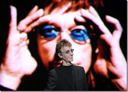 Mainz, Germania: Robin Gibb durante il concerto